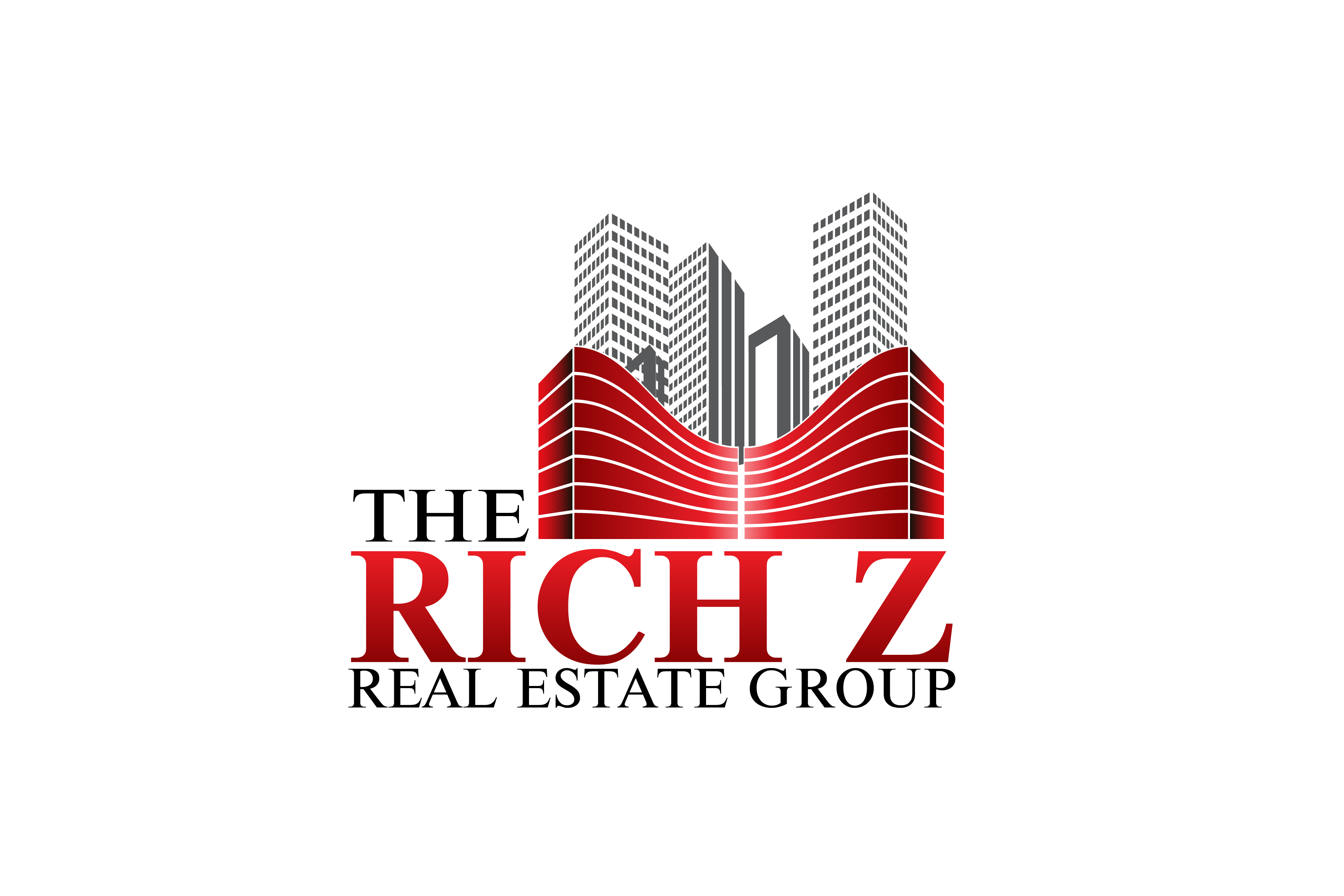 Logo Design by Private User - Entry No. 356 in the Logo Design Contest The Rich Z. Real Estate Group Logo Design.