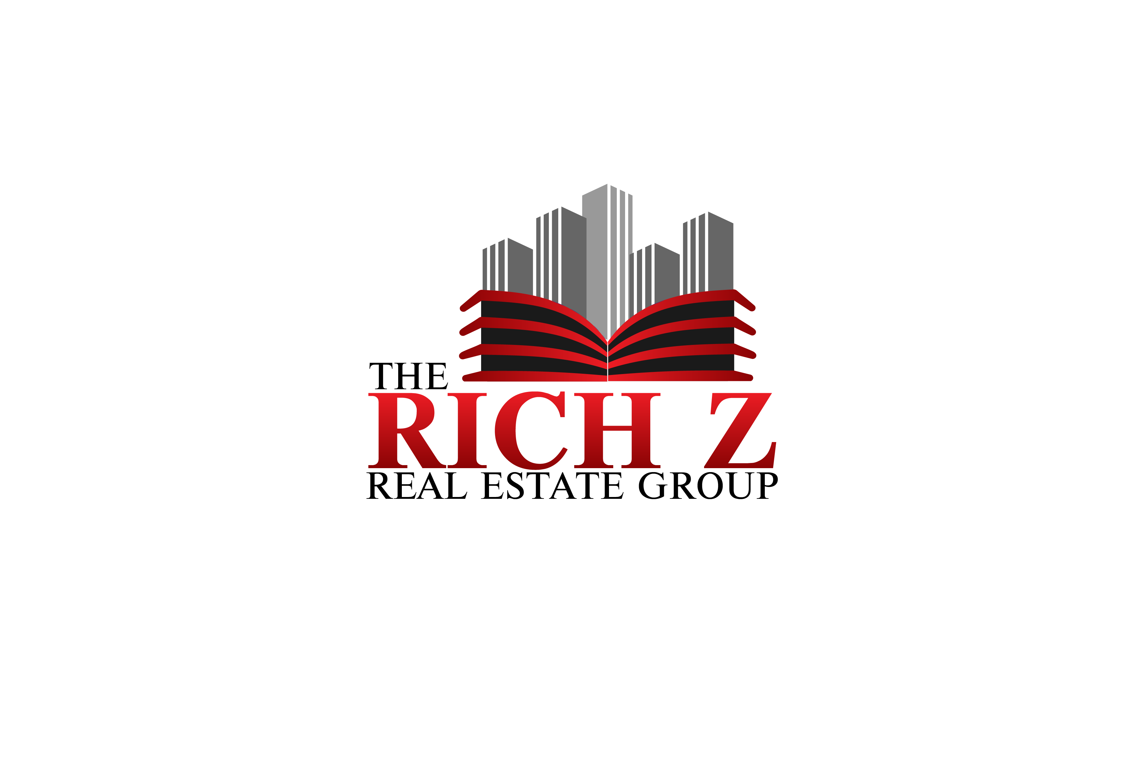 Logo Design by Private User - Entry No. 358 in the Logo Design Contest The Rich Z. Real Estate Group Logo Design.