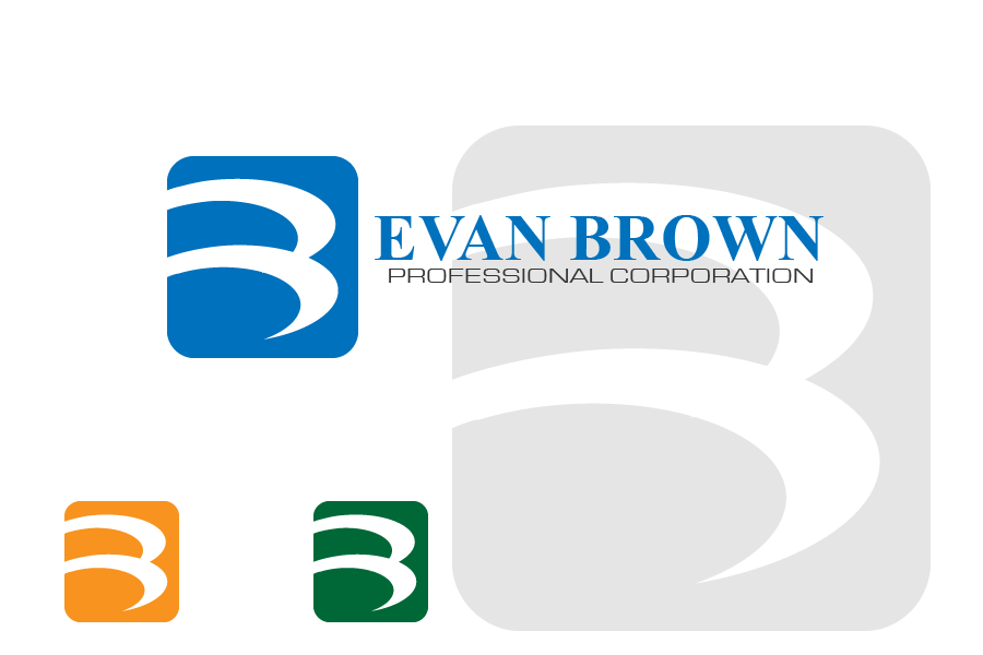 Logo Design by brands_in - Entry No. 63 in the Logo Design Contest Inspiring Logo Design for Evan Brown Professional Corporation.