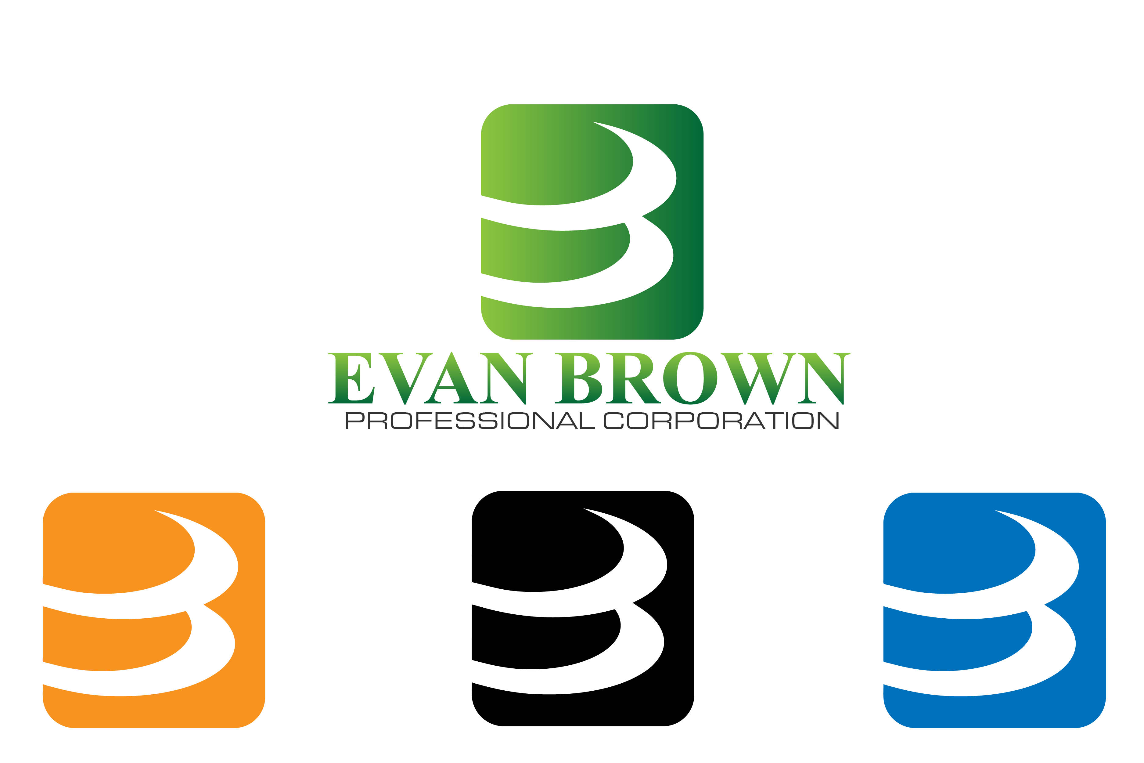 Logo Design by brands_in - Entry No. 64 in the Logo Design Contest Inspiring Logo Design for Evan Brown Professional Corporation.