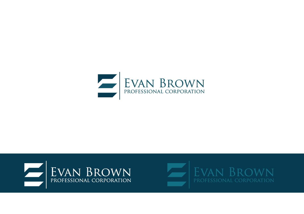 Logo Design by Salah Alamoudi - Entry No. 66 in the Logo Design Contest Inspiring Logo Design for Evan Brown Professional Corporation.