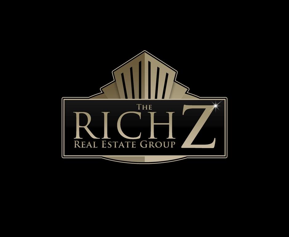 Logo Design by Juan_Kata - Entry No. 365 in the Logo Design Contest The Rich Z. Real Estate Group Logo Design.
