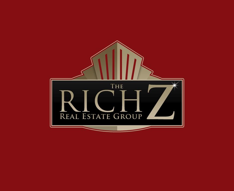 Logo Design by Juan_Kata - Entry No. 366 in the Logo Design Contest The Rich Z. Real Estate Group Logo Design.
