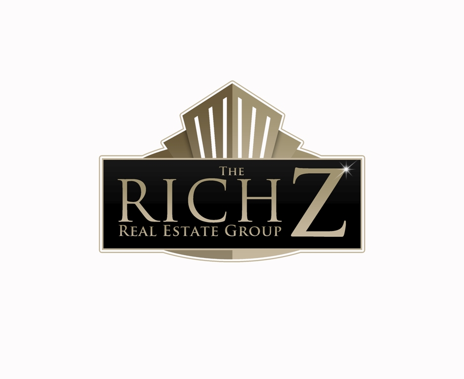 Logo Design by Juan_Kata - Entry No. 367 in the Logo Design Contest The Rich Z. Real Estate Group Logo Design.