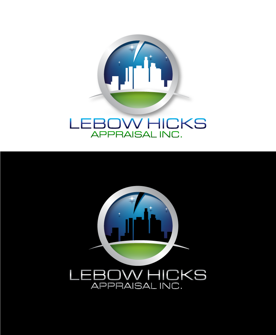 Logo Design by Private User - Entry No. 112 in the Logo Design Contest Fun Logo Design for Lebow, Hicks Appraisal Inc..