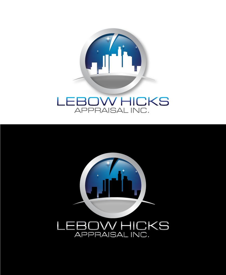 Logo Design by Private User - Entry No. 113 in the Logo Design Contest Fun Logo Design for Lebow, Hicks Appraisal Inc..