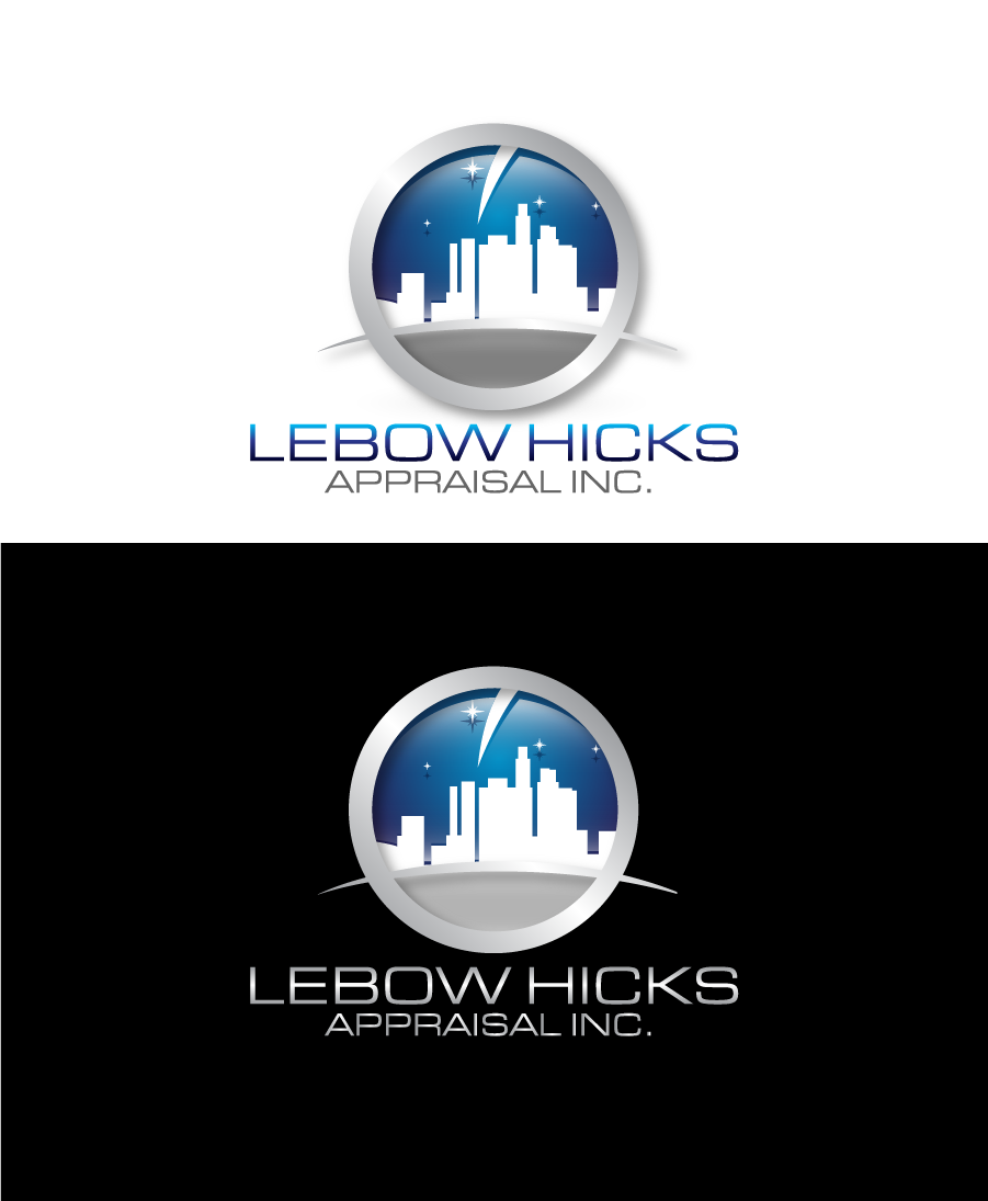 Logo Design by Private User - Entry No. 114 in the Logo Design Contest Fun Logo Design for Lebow, Hicks Appraisal Inc..