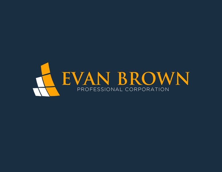 Logo Design by Juan_Kata - Entry No. 68 in the Logo Design Contest Inspiring Logo Design for Evan Brown Professional Corporation.