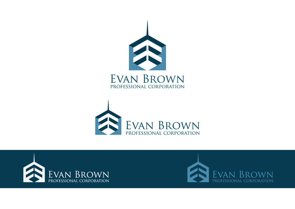 Logo Design by Salah Alamoudi - Entry No. 69 in the Logo Design Contest Inspiring Logo Design for Evan Brown Professional Corporation.