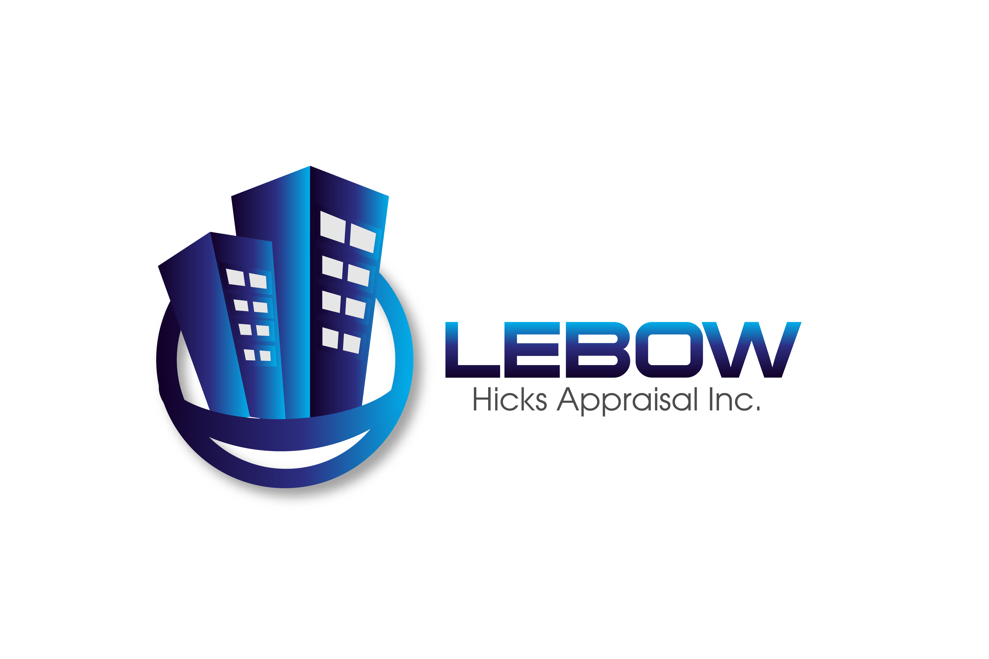 Logo Design by Private User - Entry No. 118 in the Logo Design Contest Fun Logo Design for Lebow, Hicks Appraisal Inc..
