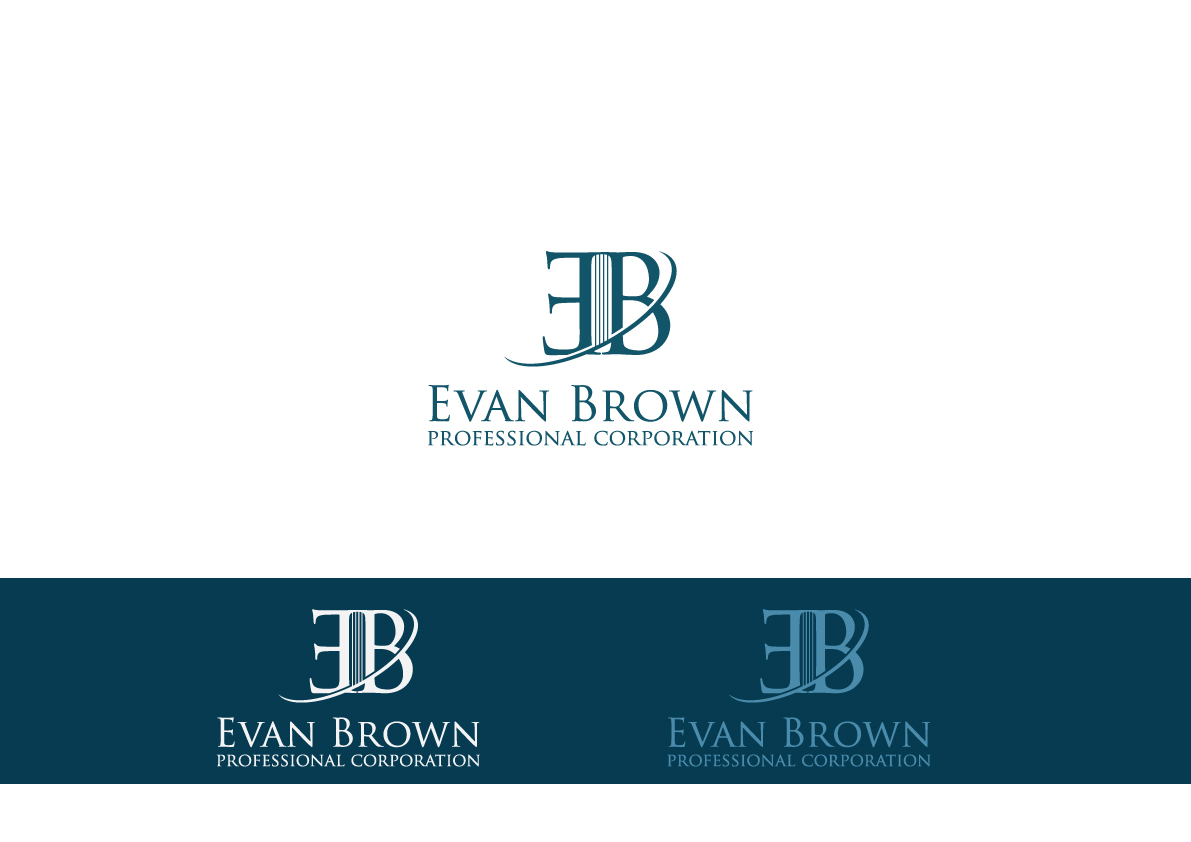 Logo Design by Salah Alamoudi - Entry No. 71 in the Logo Design Contest Inspiring Logo Design for Evan Brown Professional Corporation.