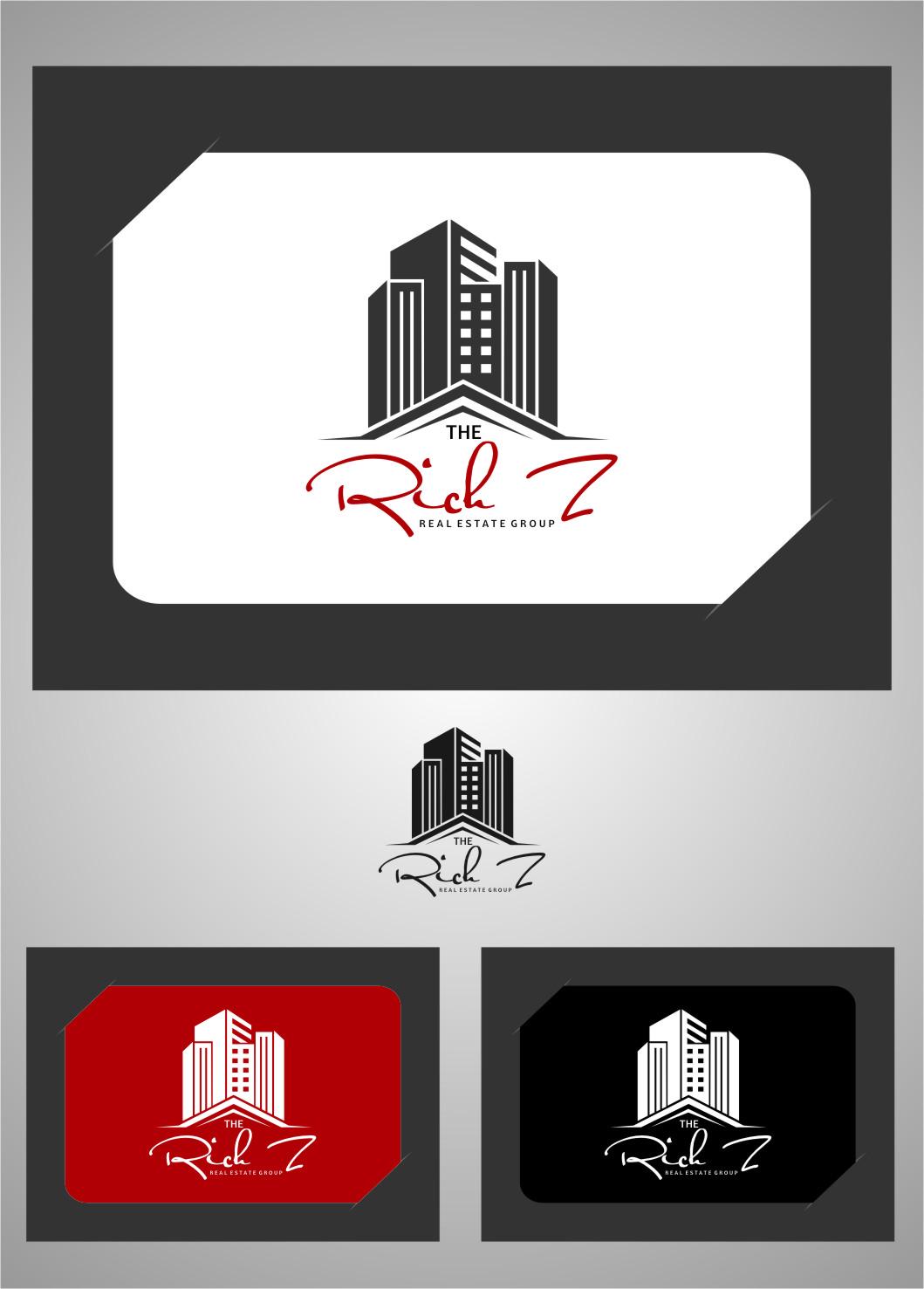 Logo Design by RasYa Muhammad Athaya - Entry No. 370 in the Logo Design Contest The Rich Z. Real Estate Group Logo Design.