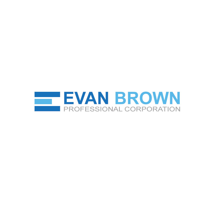 Logo Design by Private User - Entry No. 75 in the Logo Design Contest Inspiring Logo Design for Evan Brown Professional Corporation.