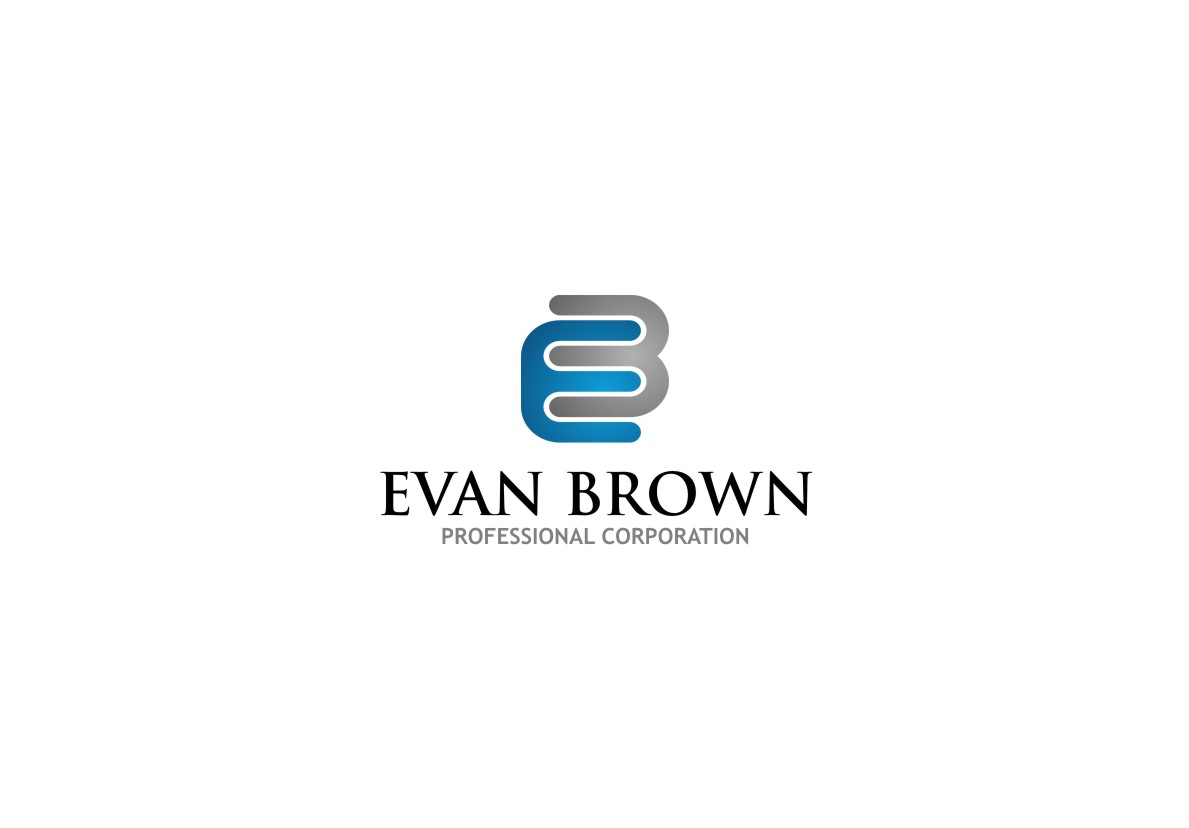 Logo Design by untung - Entry No. 76 in the Logo Design Contest Inspiring Logo Design for Evan Brown Professional Corporation.