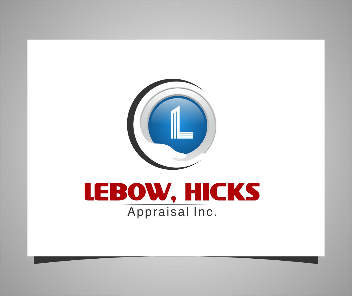 Logo Design by Ngepet_art - Entry No. 120 in the Logo Design Contest Fun Logo Design for Lebow, Hicks Appraisal Inc..