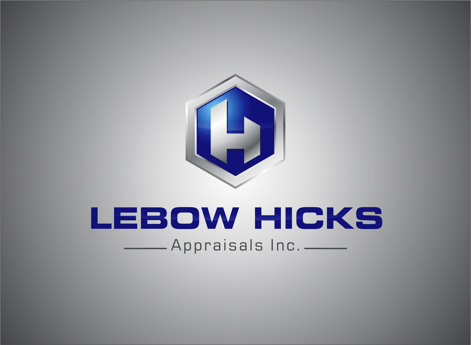 Logo Design by Armada Jamaluddin - Entry No. 124 in the Logo Design Contest Fun Logo Design for Lebow, Hicks Appraisal Inc..