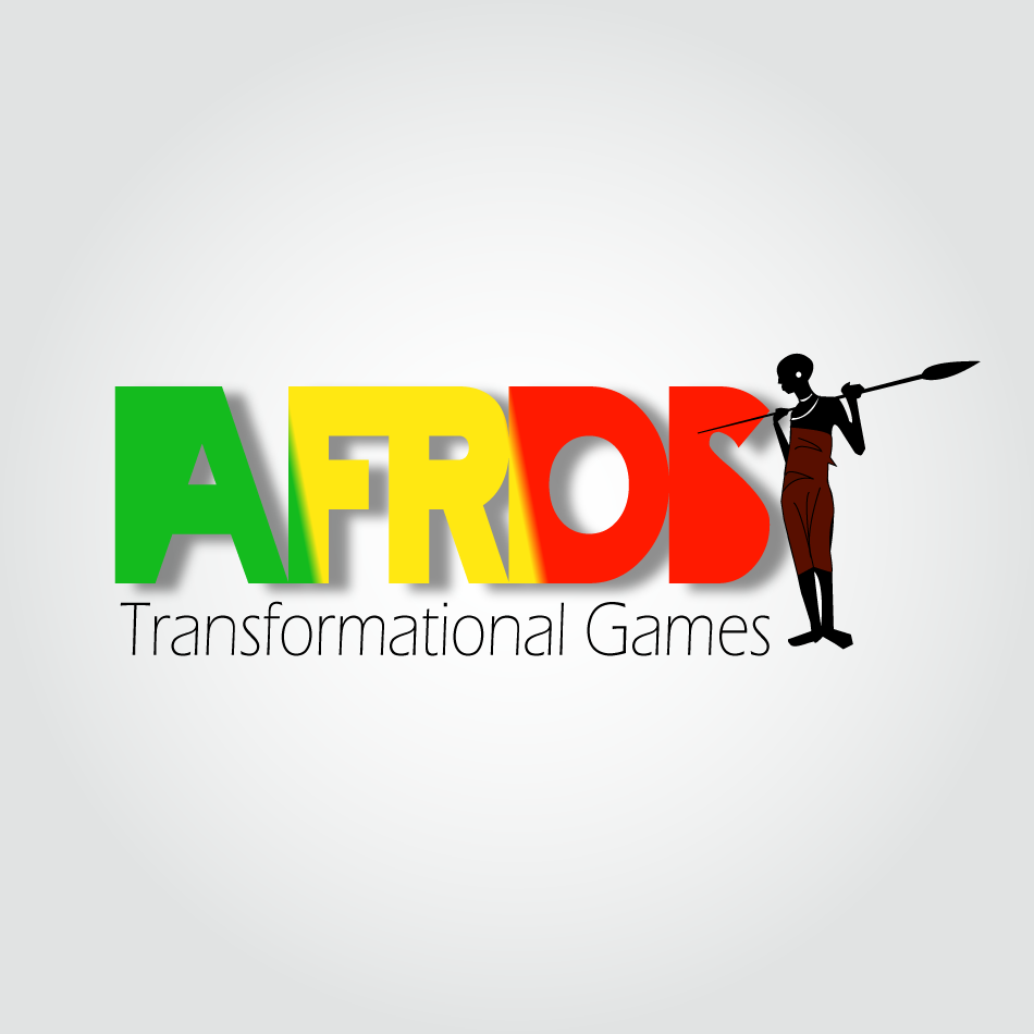 Logo Design by rictenwheel25 - Entry No. 13 in the Logo Design Contest Afroes Transformational Games.