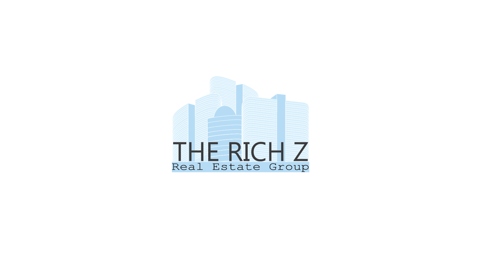 Logo Design by Private User - Entry No. 372 in the Logo Design Contest The Rich Z. Real Estate Group Logo Design.