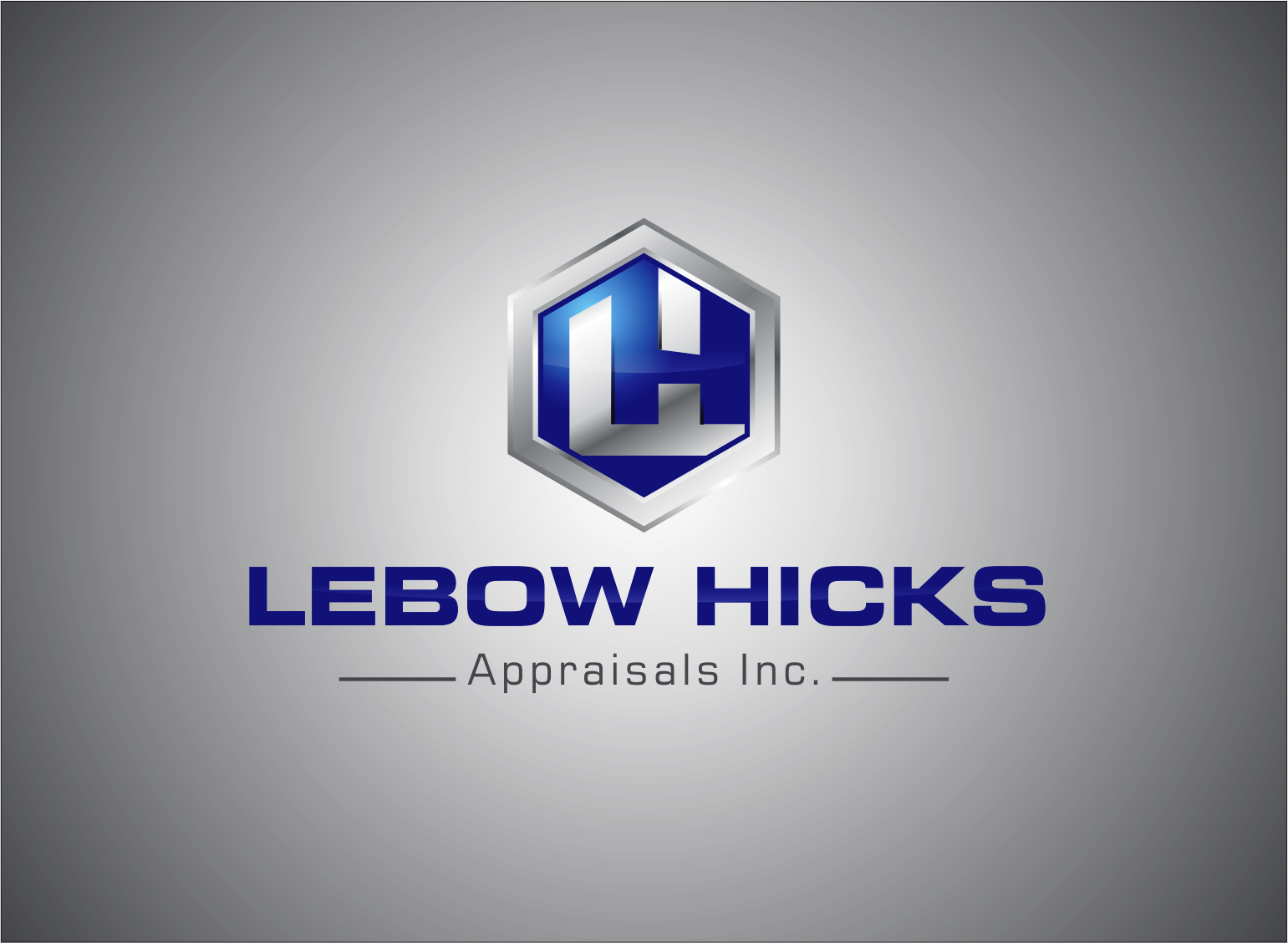 Logo Design by Armada Jamaluddin - Entry No. 128 in the Logo Design Contest Fun Logo Design for Lebow, Hicks Appraisal Inc..