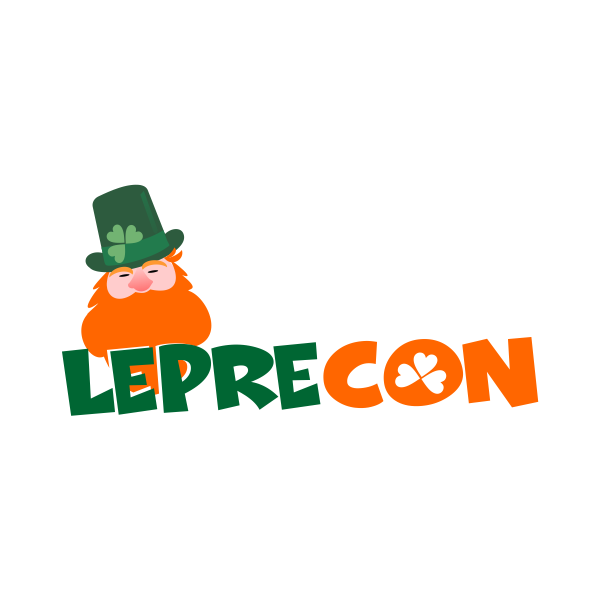 Logo Design by Rudy - Entry No. 32 in the Logo Design Contest FUN Logo Design for *LepreCon* St. Patrick's Event [WILL END EARLY JAN. 26].