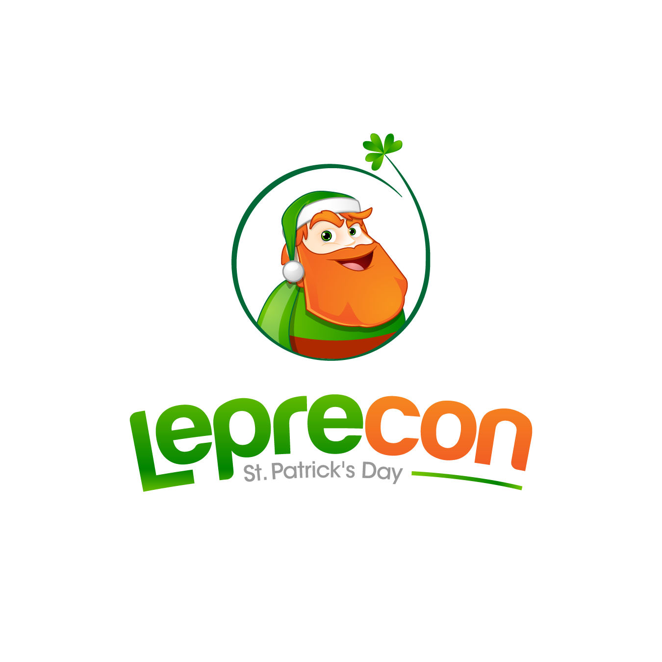 Logo Design by chinie05 - Entry No. 34 in the Logo Design Contest FUN Logo Design for *LepreCon* St. Patrick's Event [WILL END EARLY JAN. 26].