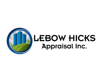 Logo Design by ibbie_ammiel2508 - Entry No. 131 in the Logo Design Contest Fun Logo Design for Lebow, Hicks Appraisal Inc..