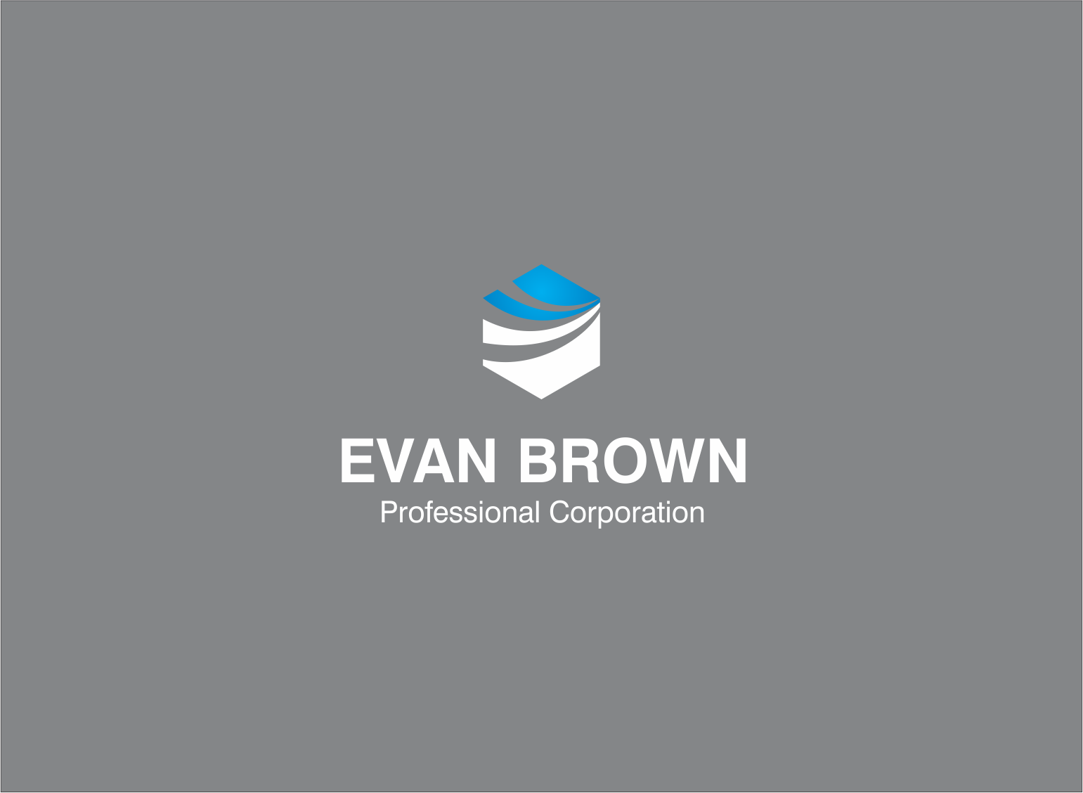 Logo Design by Armada Jamaluddin - Entry No. 88 in the Logo Design Contest Inspiring Logo Design for Evan Brown Professional Corporation.