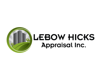 Logo Design by ibbie_ammiel2508 - Entry No. 132 in the Logo Design Contest Fun Logo Design for Lebow, Hicks Appraisal Inc..