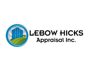 Logo Design by ibbie_ammiel2508 - Entry No. 133 in the Logo Design Contest Fun Logo Design for Lebow, Hicks Appraisal Inc..