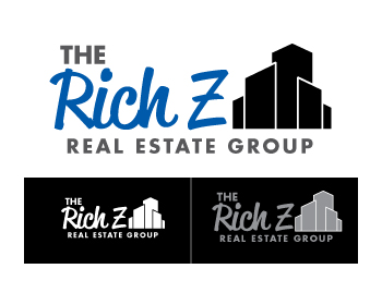 Logo Design by ibbie_ammiel2508 - Entry No. 374 in the Logo Design Contest The Rich Z. Real Estate Group Logo Design.