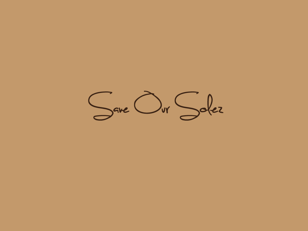 Logo Design by Ashesh Gaurav - Entry No. 38 in the Logo Design Contest Captivating Logo Design for Save Our Solez.