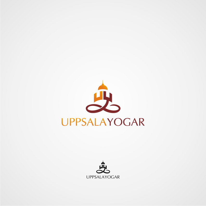 Logo Design by graphicleaf - Entry No. 45 in the Logo Design Contest Unique Logo Design Wanted for Uppsala Yogar.