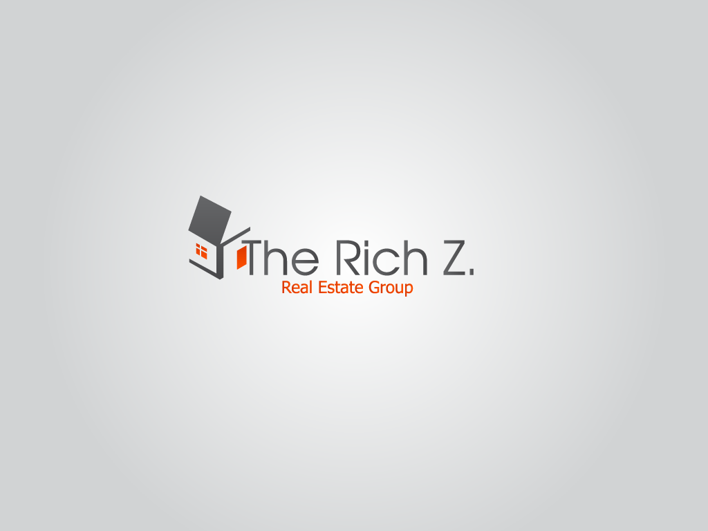 Logo Design by Ashesh Gaurav - Entry No. 376 in the Logo Design Contest The Rich Z. Real Estate Group Logo Design.