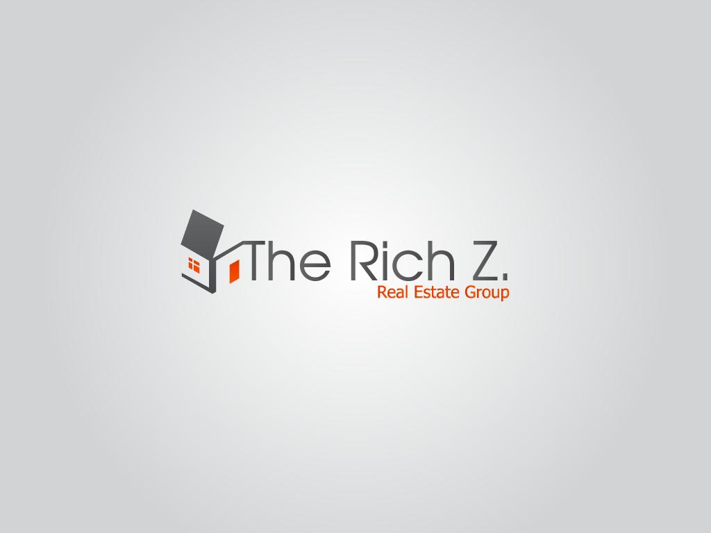 Logo Design by Ashesh Gaurav - Entry No. 377 in the Logo Design Contest The Rich Z. Real Estate Group Logo Design.
