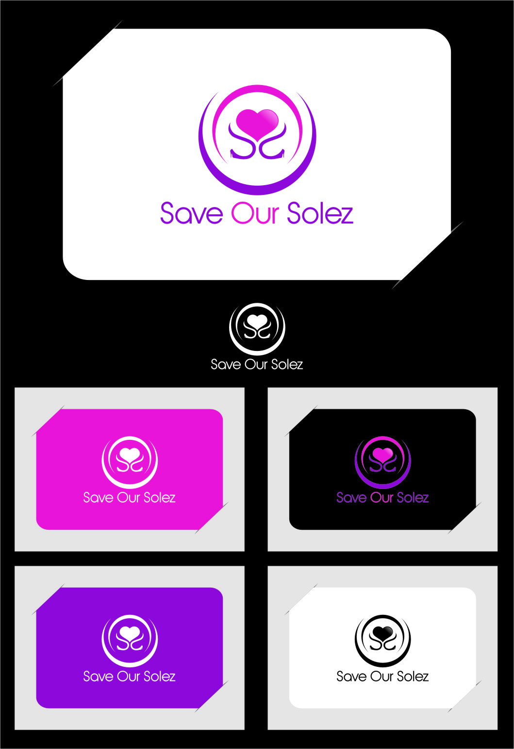 Logo Design by RasYa Muhammad Athaya - Entry No. 46 in the Logo Design Contest Captivating Logo Design for Save Our Solez.