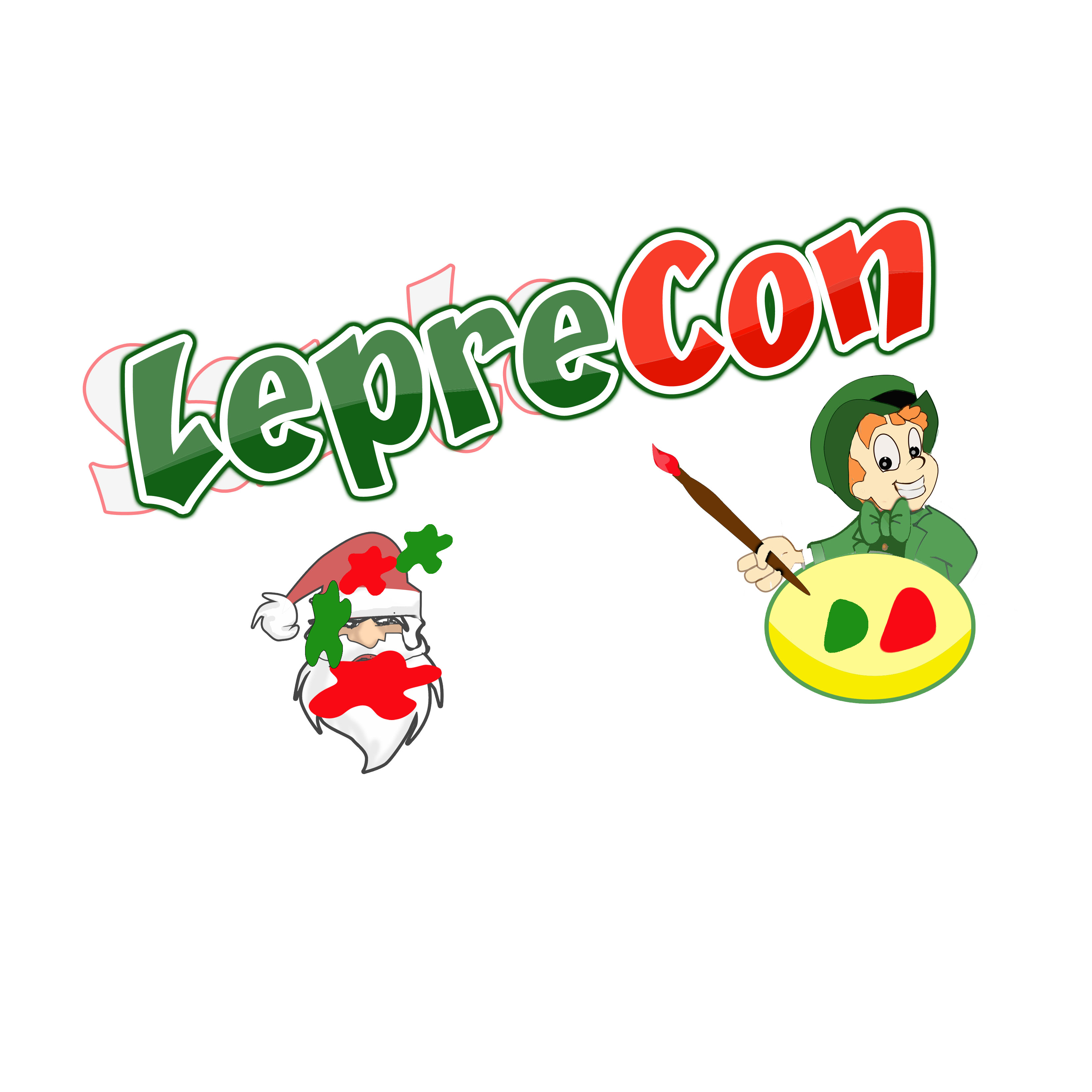 Logo Design by Allan Esclamado - Entry No. 36 in the Logo Design Contest FUN Logo Design for *LepreCon* St. Patrick's Event [WILL END EARLY JAN. 26].