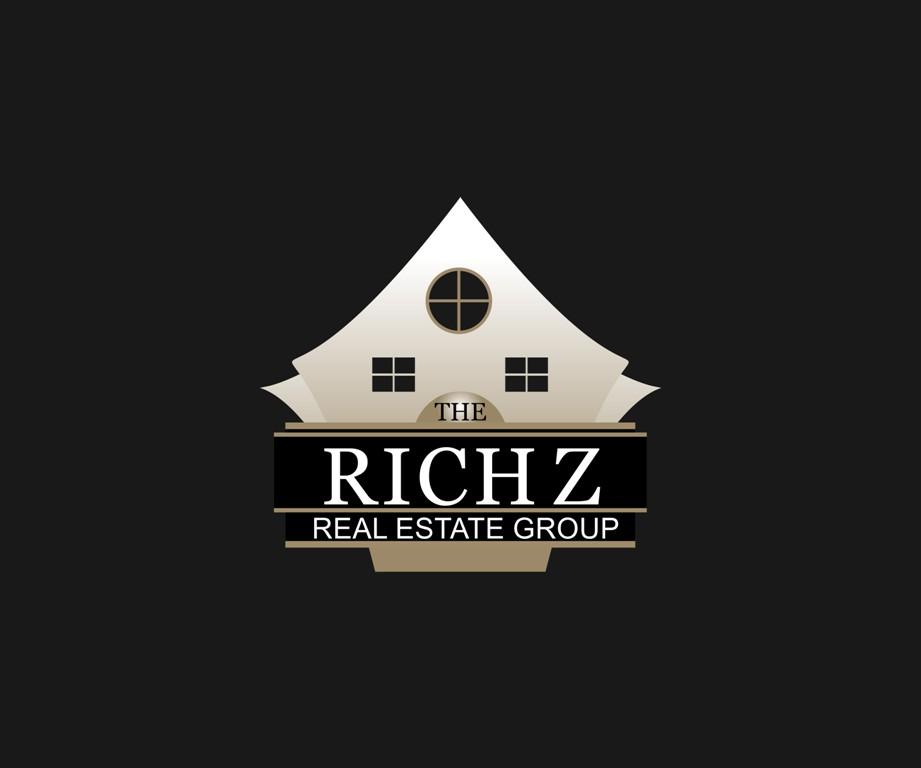 Logo Design by Crispin Jr Vasquez - Entry No. 378 in the Logo Design Contest The Rich Z. Real Estate Group Logo Design.