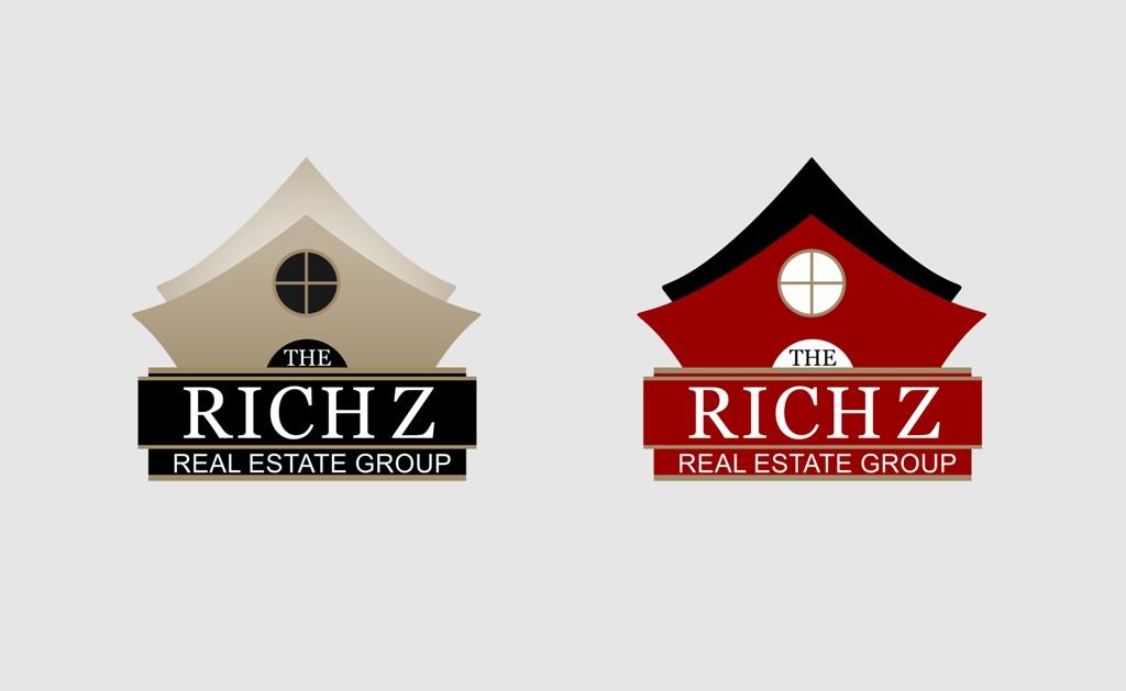 Logo Design by Crispin Jr Vasquez - Entry No. 380 in the Logo Design Contest The Rich Z. Real Estate Group Logo Design.