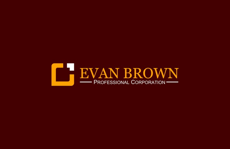 Logo Design by Crispin Jr Vasquez - Entry No. 104 in the Logo Design Contest Inspiring Logo Design for Evan Brown Professional Corporation.