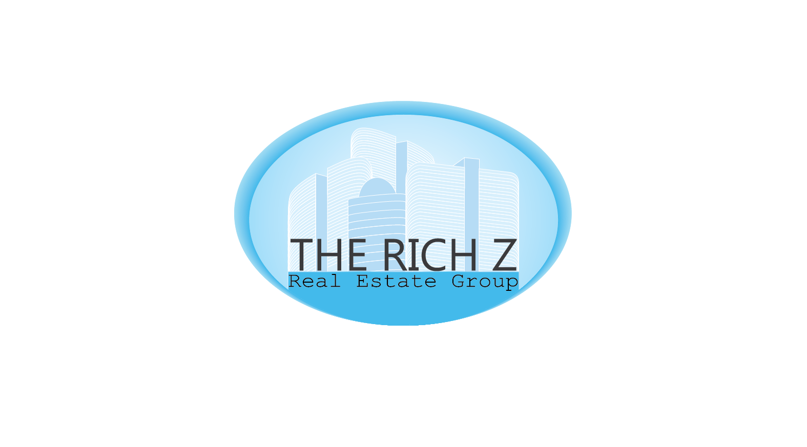 Logo Design by Private User - Entry No. 384 in the Logo Design Contest The Rich Z. Real Estate Group Logo Design.
