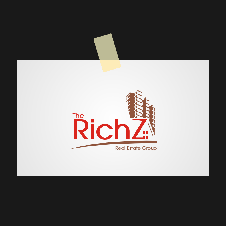 Logo Design by graphicleaf - Entry No. 385 in the Logo Design Contest The Rich Z. Real Estate Group Logo Design.