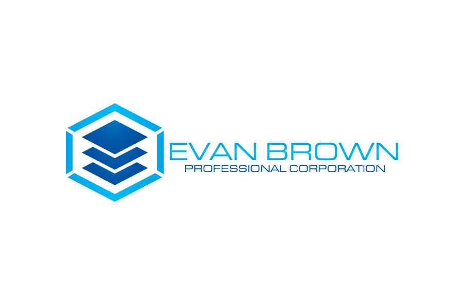 Logo Design by Private User - Entry No. 106 in the Logo Design Contest Inspiring Logo Design for Evan Brown Professional Corporation.