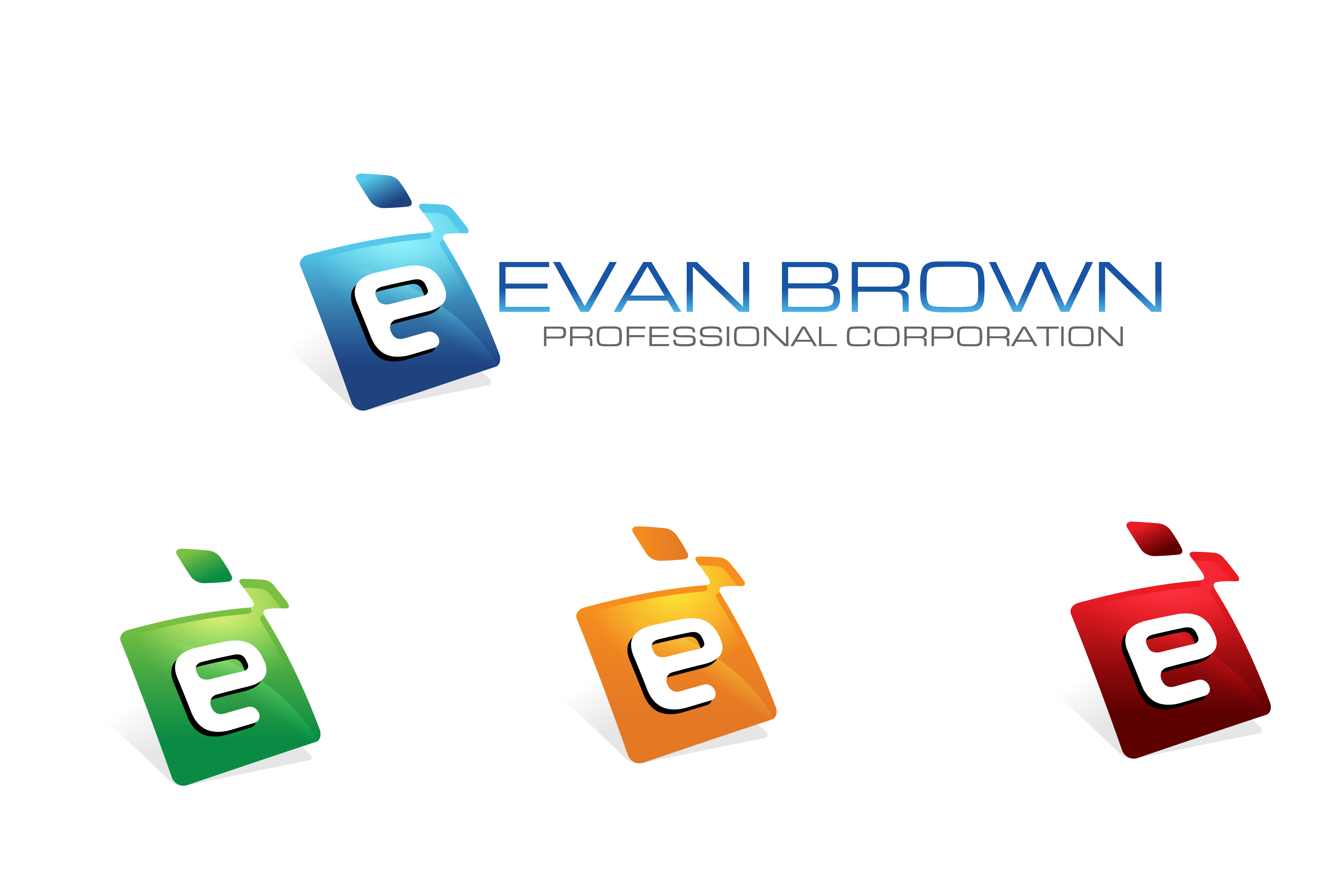 Logo Design by Private User - Entry No. 110 in the Logo Design Contest Inspiring Logo Design for Evan Brown Professional Corporation.