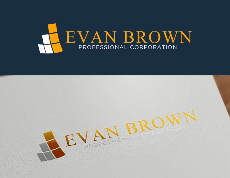 Logo Design by Juan_Kata - Entry No. 111 in the Logo Design Contest Inspiring Logo Design for Evan Brown Professional Corporation.