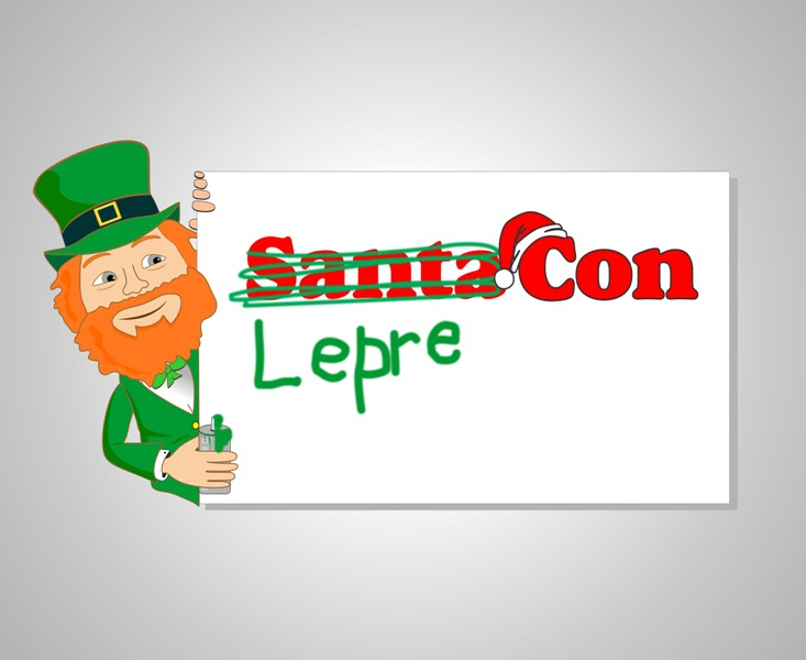 Logo Design by Mhon_Rose - Entry No. 51 in the Logo Design Contest FUN Logo Design for *LepreCon* St. Patrick's Event [WILL END EARLY JAN. 26].