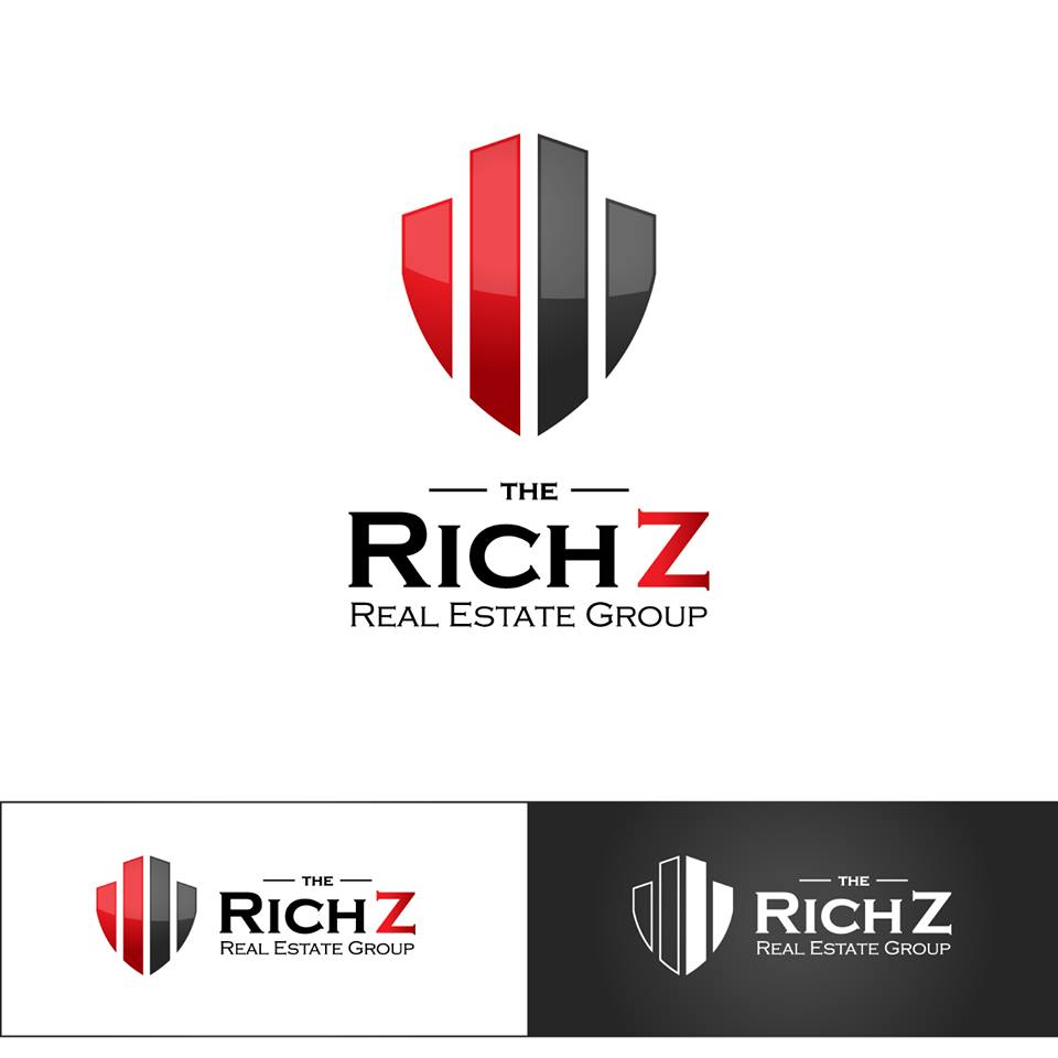 Logo Design by chinie05 - Entry No. 387 in the Logo Design Contest The Rich Z. Real Estate Group Logo Design.