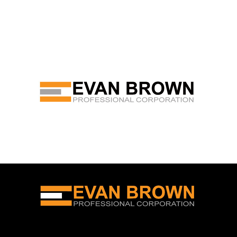 Logo Design by Private User - Entry No. 112 in the Logo Design Contest Inspiring Logo Design for Evan Brown Professional Corporation.