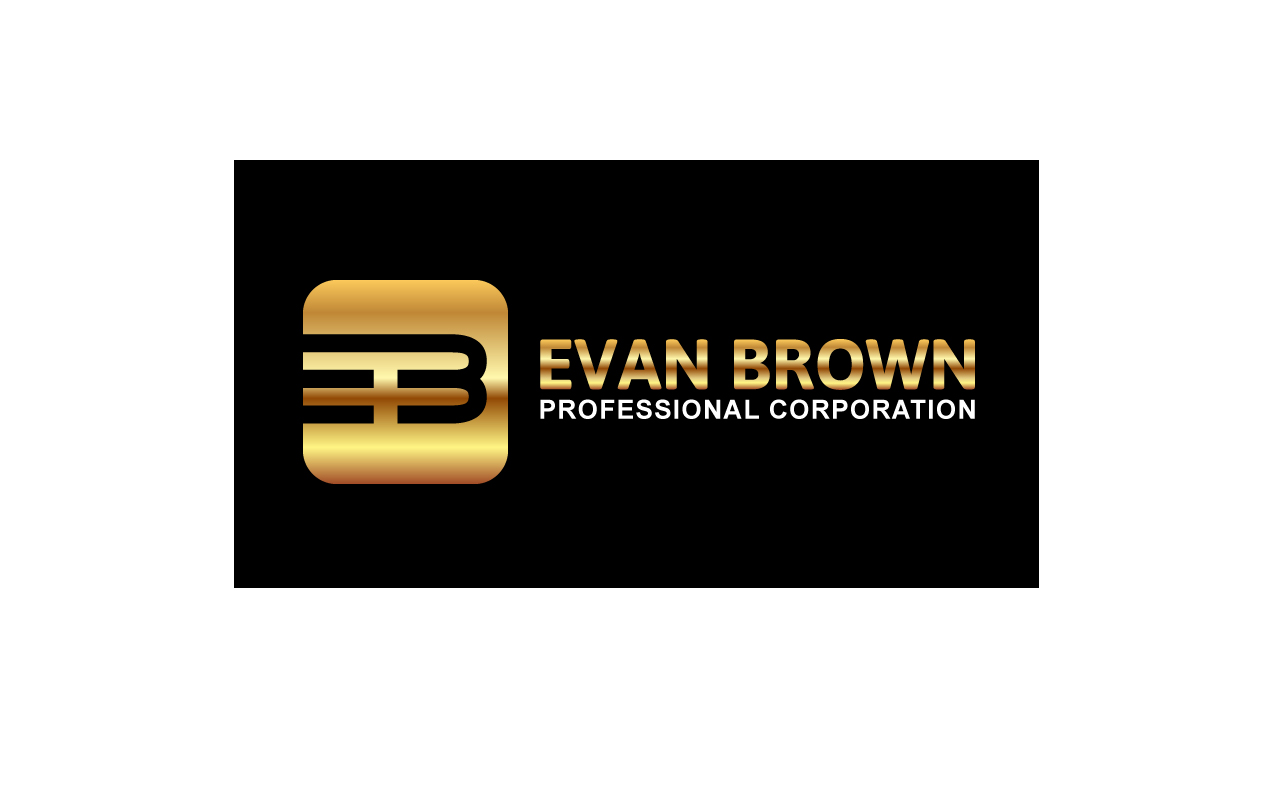 Logo Design by Jagdeep Singh - Entry No. 113 in the Logo Design Contest Inspiring Logo Design for Evan Brown Professional Corporation.