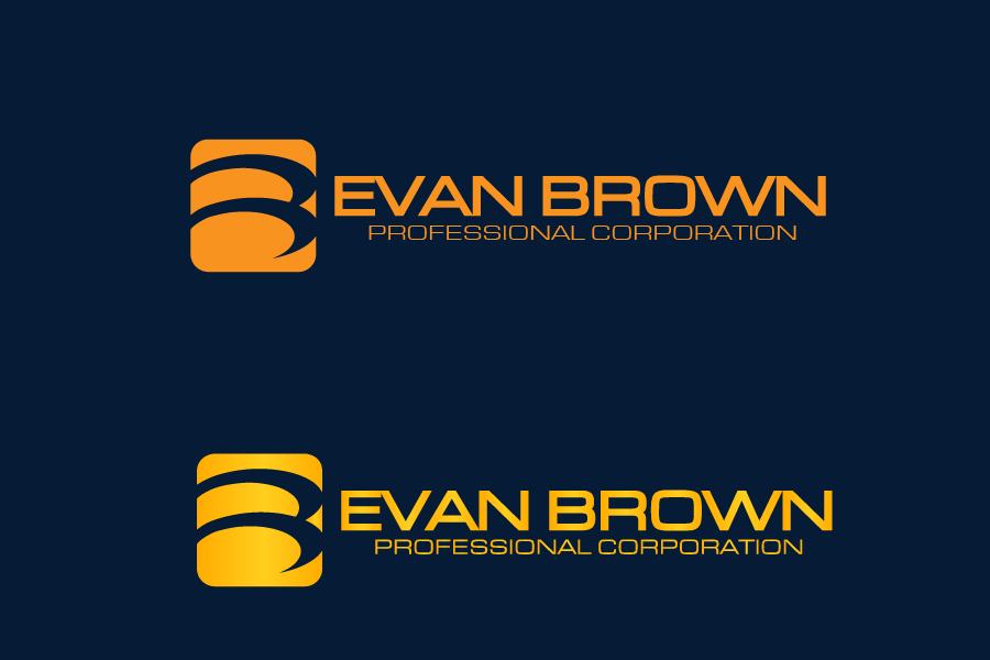Logo Design by brands_in - Entry No. 115 in the Logo Design Contest Inspiring Logo Design for Evan Brown Professional Corporation.