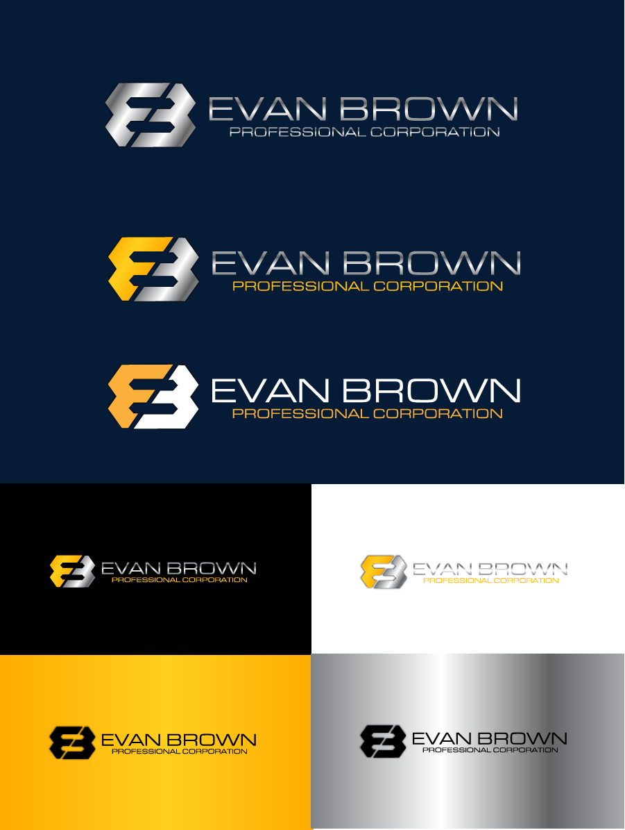Logo Design by brands_in - Entry No. 116 in the Logo Design Contest Inspiring Logo Design for Evan Brown Professional Corporation.